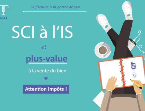 SCI à l'IS et vente du bien : attention impôts ?